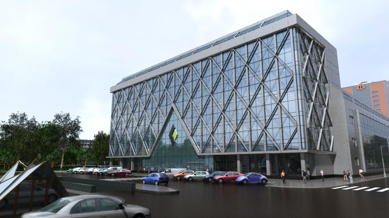 реконструкции главного офиса «Галургии»