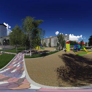 Панорама игровой площадки