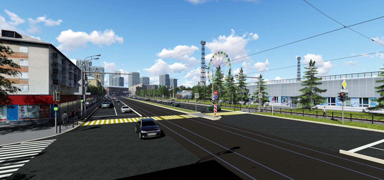 Реконструкция улицы Революция