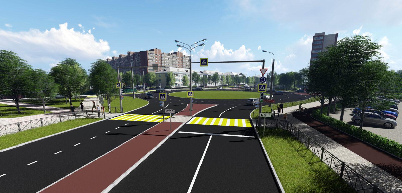 Реконструкция улицы Карпинского
